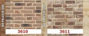 Cegły i płytki na wzór ręcznie formowanych